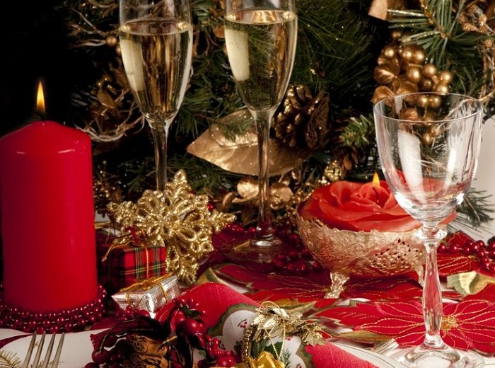 10 TABLESCAPES IDEAS FOR CHRISTMAS