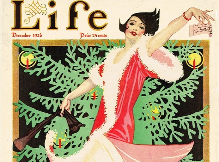 HOLIDAY-THEMED VINTAGE MAGAZINE COVERS